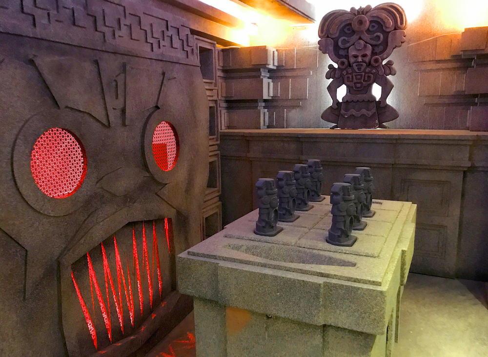 Temple Game Room