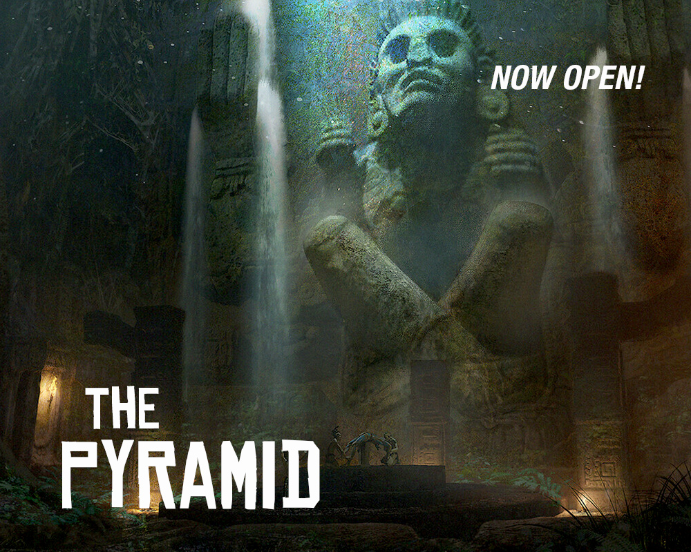 Now Open The Pyramid